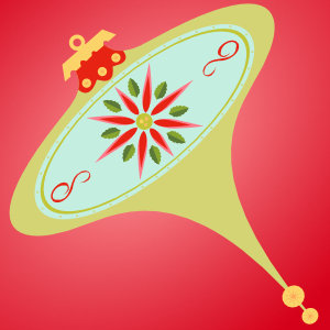 Resource Freebies: Atomic Christmas vector