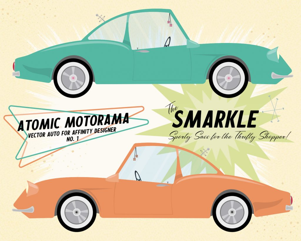 Atomic Motorama #1 'The Smarkle'