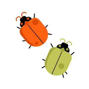 Vector Beetles: Midmod Finches