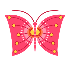 Vector Butterfly 2: Midmod Finches
