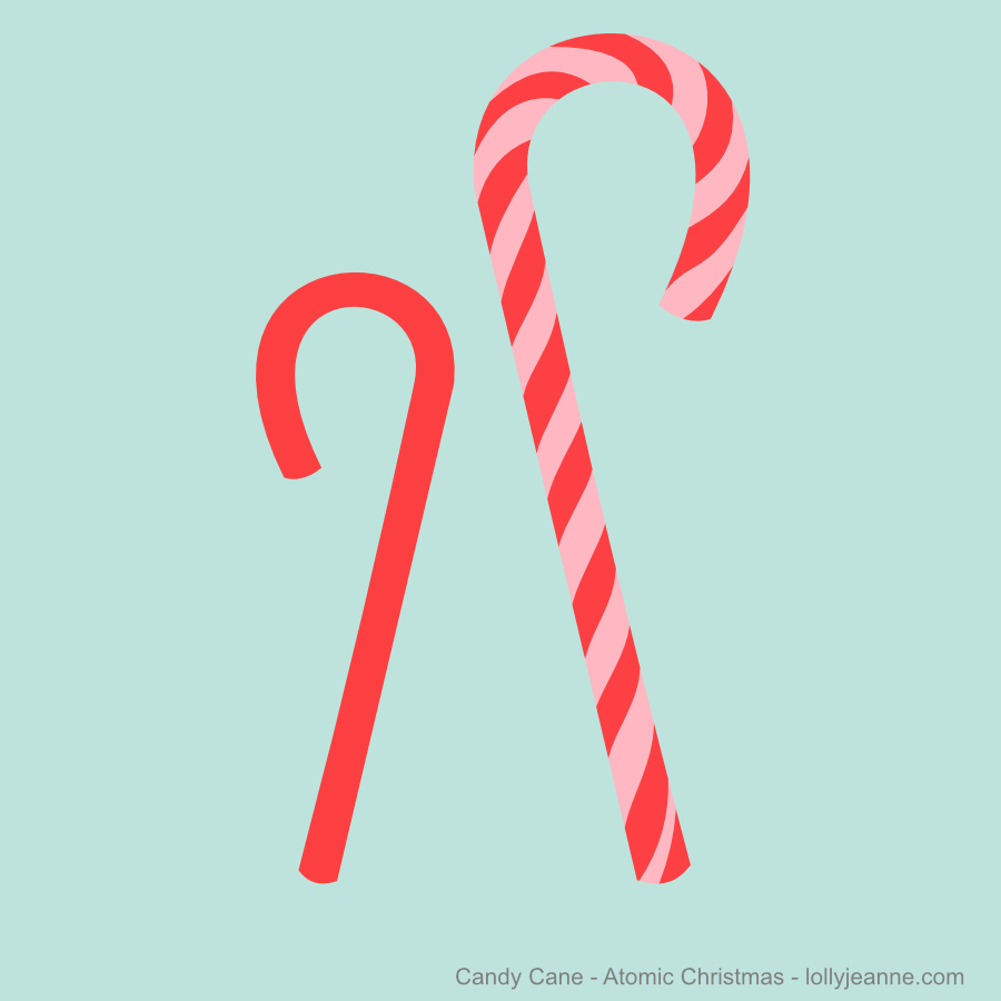 Candy Cane Atomic Christmas